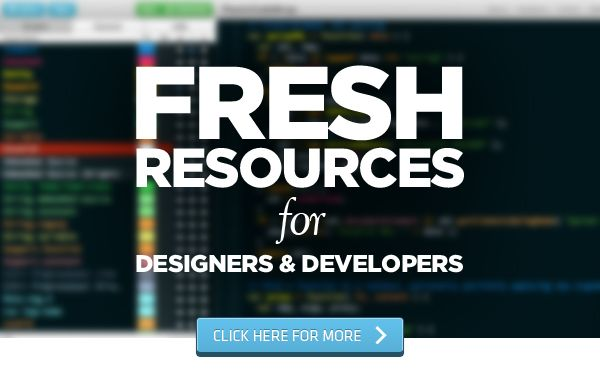 Fresh Resources For Web Designers And Developers – August 2013 http://www.hongkiat.com/blog/designers-developers-monthly-08-2013/