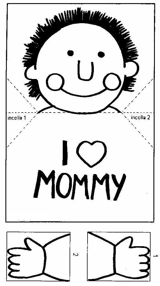 okul oncesi Anneler Günü İçin Kollarını Açan Çocuk Kartı, okul oncesi etkinlik, okul oncesi sanat etkinlikleri, etkinlik ornekleri