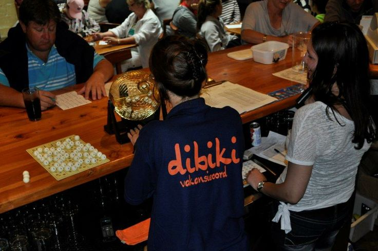 Die Bingo aande by Dibiki sorg vir ure se pret. Bingo nights at Dibiki provide hours of fun. #hartenbos, #activities, #holiday