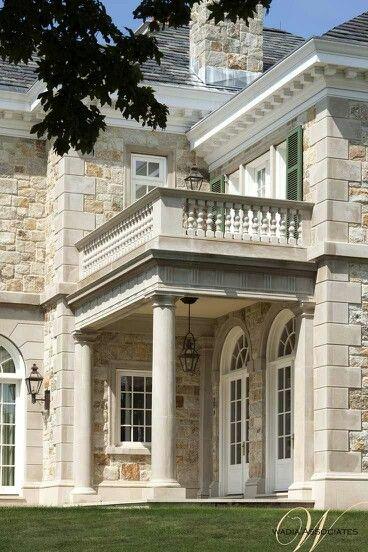 classical stone exterior