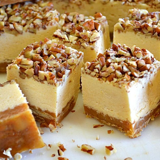Pecan Pie Cheesecake Fudge - Lady Behind the Curtain