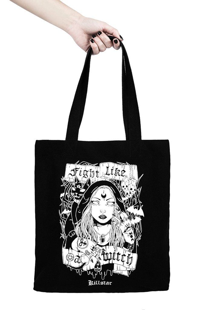 84501fe9d0a4 Fight Like A Witch Tote Bag  B  in 2018