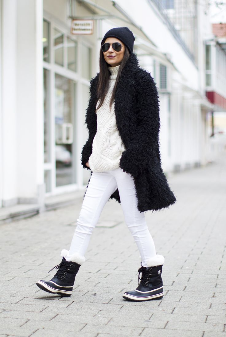 Best 25+ Snow boots outfit ideas on Pinterest