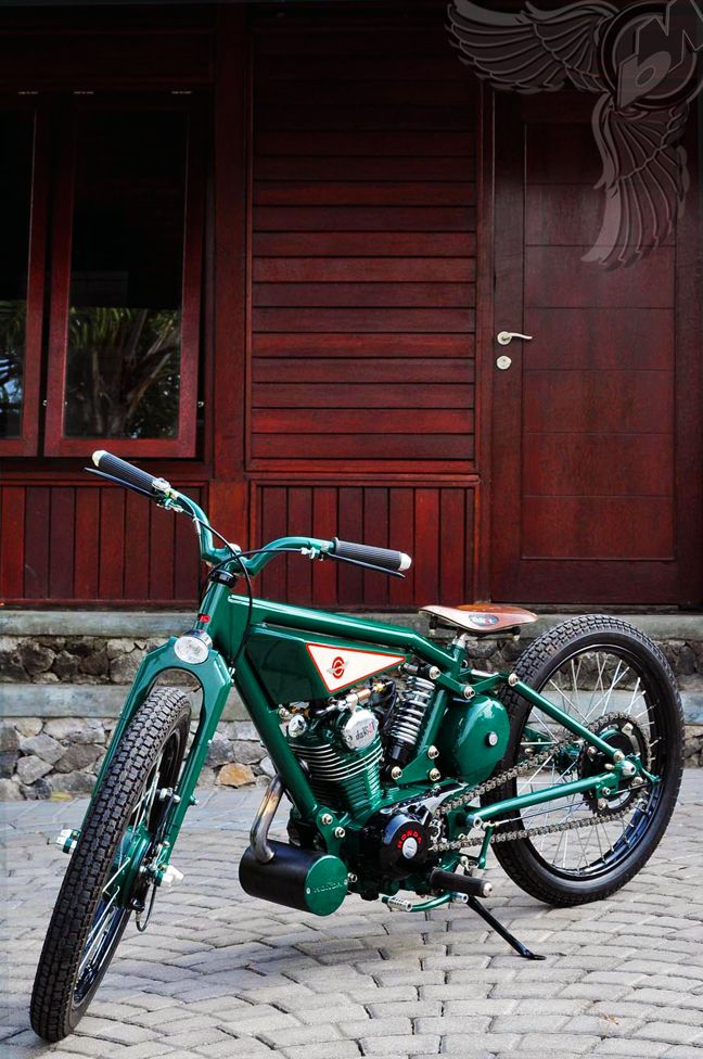 Metric Choppers - Page 9 - Custom Fighters - Custom Streetfighter Motorcycle Forum. looks so easy and cool.