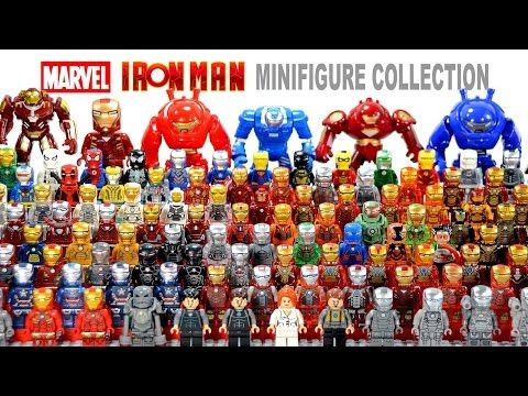 Ultimate Lego Iron Man House Party Protocol Suit Of