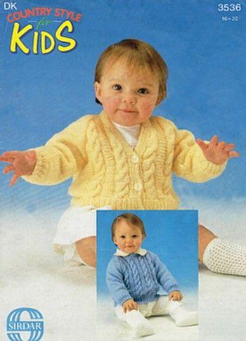 New Baby Knitting Patterns 1
