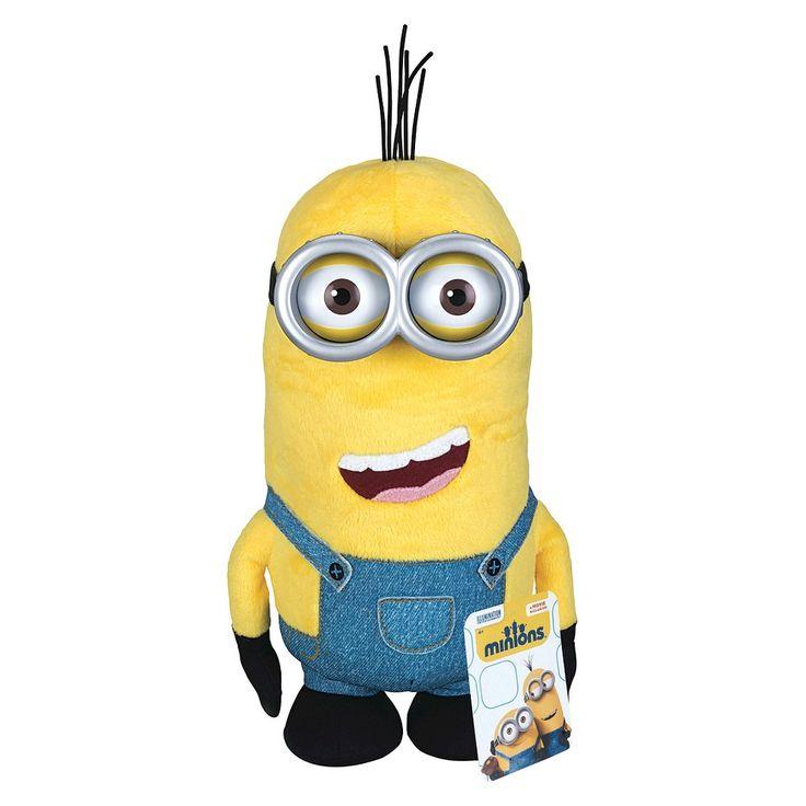 Despicable Me Huggable Plus Minion Toy - Kevin