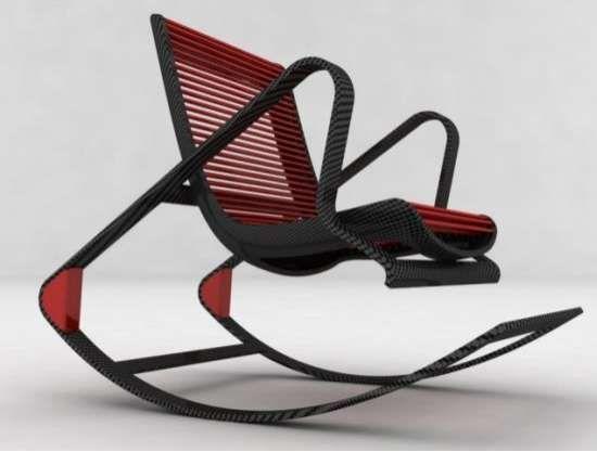 Convertible Carbon Fiber Chairs