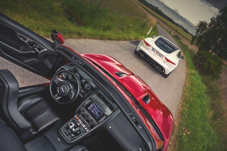 Jaguar F-Type er billigere som coupé end cabriolet. Prisforskellen udjævnes dog i topversionerne med V8-motor, så tager du bæstet Coupé R med 550 hk eller den topløse Convertible V8 S med 495 hk?
