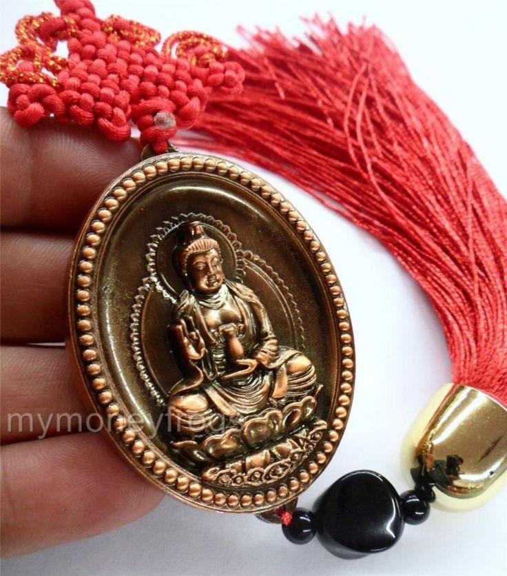 Lucky Buddha Ingot Hanging Charm C