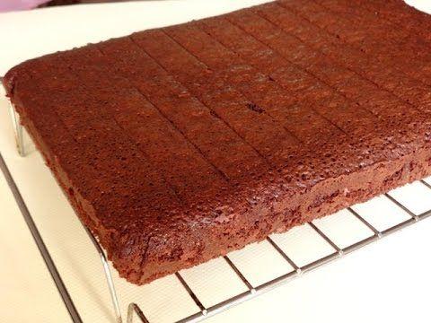 Шоколадный бисквит рецепт идеальное тесто. Всем пробовать! - YouTube