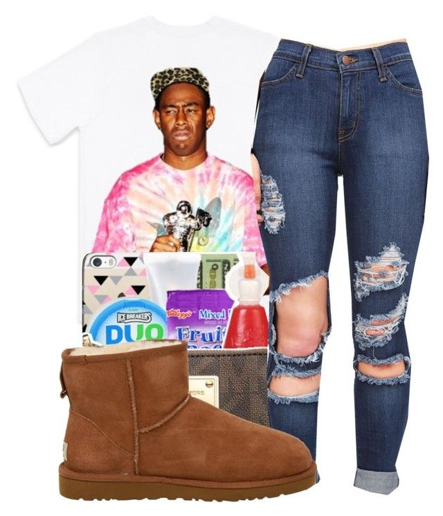 """""""Transylvania~Tyler the creator"""" by maiyaxbabyyy ❤ liked on Polyvore featuring October's Very Own and UGG Australia"""