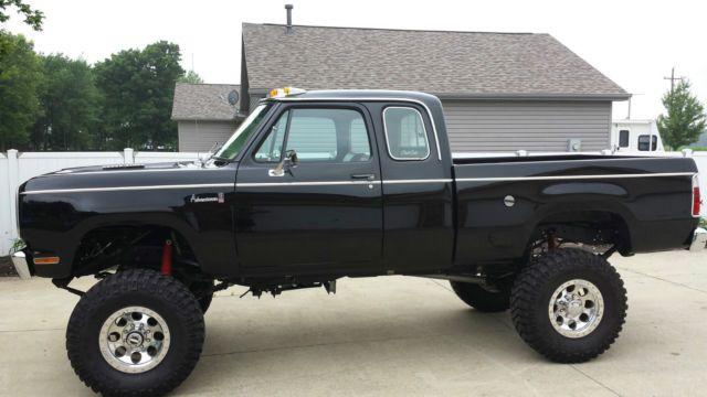 Lifted Cummins For Sale >> 1978 Dodge Cummins Powerwagon truck for sale in Kokomo, Indiana ... | Dodge Trucks | Dodge ...
