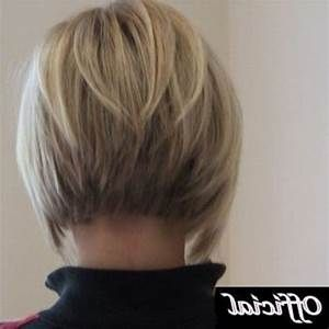 Short Inverted Bob Hairstyle Back View | Short Hairstyles ...