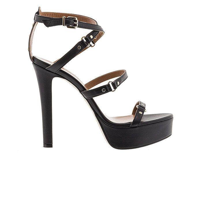 1008D02-BLACK LEATHERwww.mourtzi.com #sandals #heels #mourtzi #greekdesigners #wow