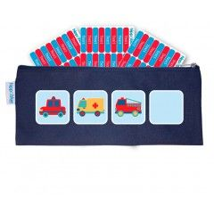 NAVY BLUE CASE Hippo Blue is giving away 96 x FREE Pencil Labels with every Pencil case! The stationery pack for your kids first years in kindergarten, day care, crèche or school.