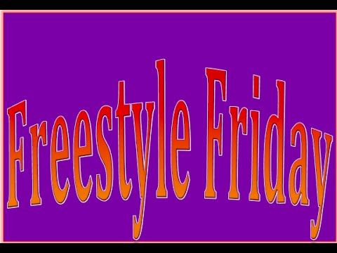 Freestyle Friday - We Love Poems
