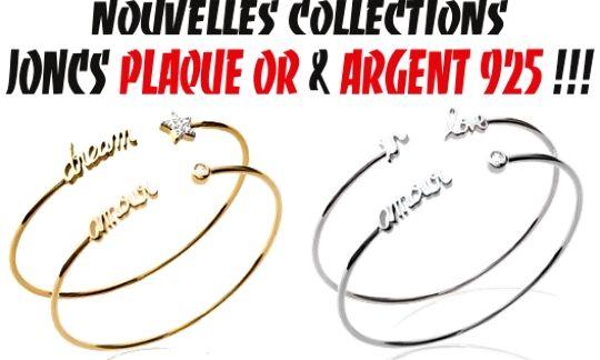 NOUVELLES COLLECTIONS ;) *JONCS ARGENT 925: http://www.grossiste-toulouse.com/fr/739-joncs-argent-925 *JONCS PLAQUÉ OR: http://www.grossiste-toulouse.com/fr/736-joncs-plaque-or