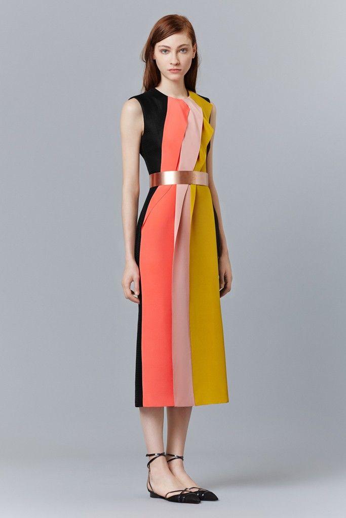 Roksanda Pre-Fall 2015 - Slideshow - Runway, Fashion Week, Fashion Shows, Reviews and Fashion Images - WWD.com