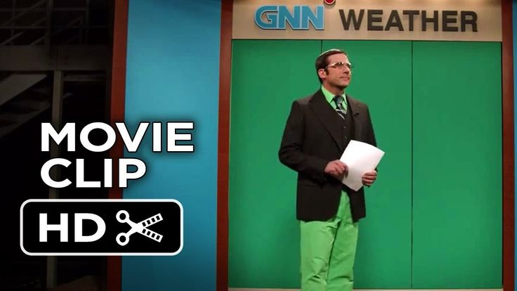 Anchorman 2: The Legend Continues Movie CLIP - Green Screen (2013) - Com...
