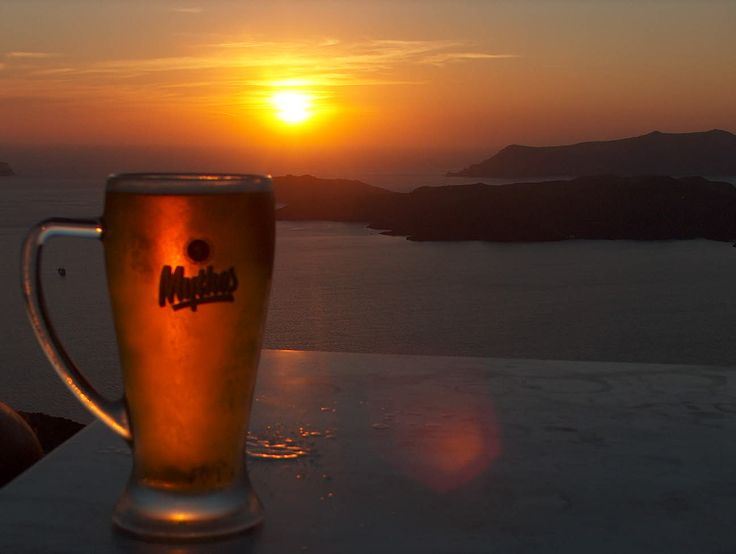mythos in sunset