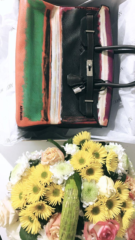 ARTBURO Personalization & Hermés & Mark Rothko No13/No13 1949 painting. Hand painted. Exceptional Piece. #artburopersonalization #artburo #artburocollection #theiconbag #artburogallery #artburofw18 #artburoauction #exceptionalpieces #артбюро #handpaintedhermes #artburoalisakovtunova #customhermes #markrothko #fashionista #luxury #alisakovtunova #hermesexceptional #customizedhermes #bitcoin  #artburodesign