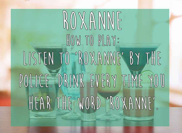 Roxanne | 15 Simple Drinking Games Every Fresher Should Know
