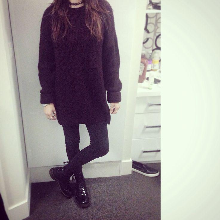 Shopping  #winter #topshop #fashion #choker #docmartins