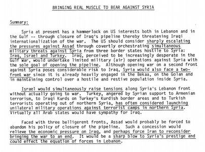 1983 CIA Document Reveals Plan To Destroy Syria For Oil And Predicts Current Conflict  News #news #alternativenews