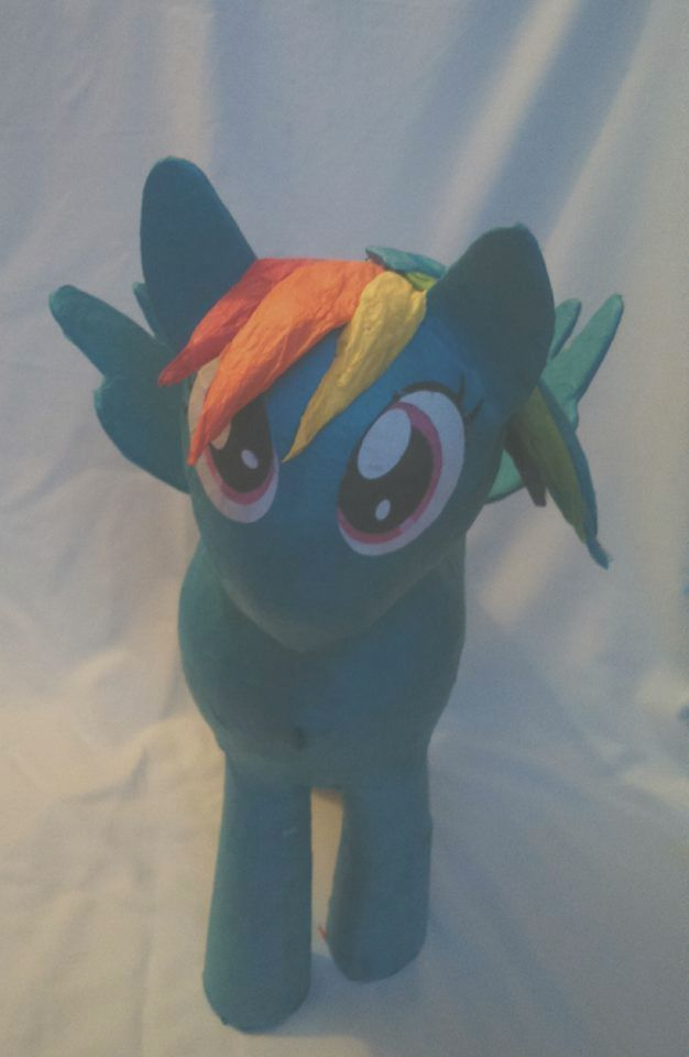 My Little Pony raimbow dash hit pinata birthday party game in Home, Furniture & DIY, Celebrations & Occasions, Party Supplies | eBay