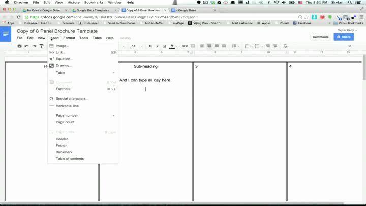 Brochure Templates For Google Docs Inspirational Brochure Templates Google Docs Free Brochure Template Brochure Template Pamphlet Template
