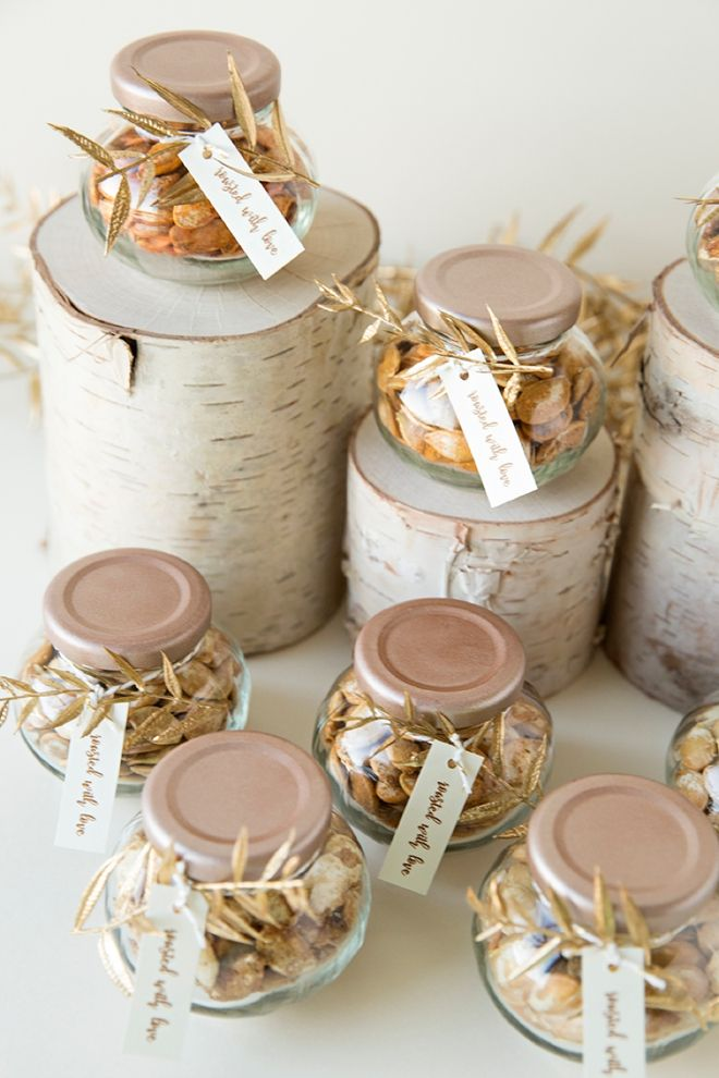 Give Homemade Roasted Pumpkin Seeds As Your Wedding Favors