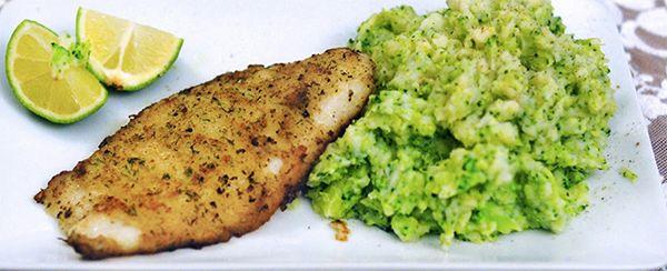 Diner voor één: Pangasiusfilet met broccolistamppot ♥ Foodness - good food, top products, great health