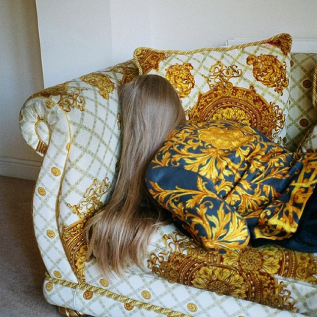 Best Fashion VERSACE Images On Pinterest Versace Anger - Creative and soft sofa for real fashionistas by versace