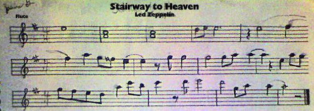 Stairway To Heaven Flute Solo By Jazzyjazz74 Deviantart Com On Deviantart Stairway To Heaven Solo Stairway To Heaven Flute Parts