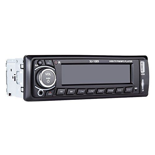 Car Stereo, Single-Din Car Radio, Bluetooth In Dash, Remote Control, Digital Media Receivers, USB/SD/Audio Receiver/MP3 Player/FM Radio by Xshop http://caraudio.henryhstevens.com/shop/car-stereo-with-bluetoothin-dash-single-din-car-radio-car-mp3-player-usbsdauxwireless-remote-control-included-by-xshop/?attribute_pa_color=1089 https://images-na.ssl-images-amazon.com/images/I/41Q11lmdkBL.jpg
