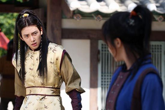 Seung-nyang and  Ta-hwan / Empress Ki / Cesarzowa Ki