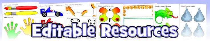 Editable Primary Teaching Resources - Flash cards, labels, posters & classroom display resources - SparkleBox