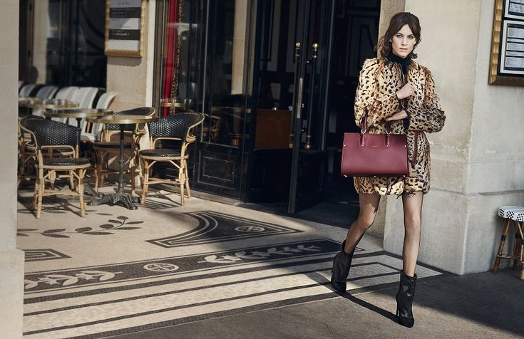 【SPUR】パリジェンヌになりきったアレクサに注目! ロンシャンの秋キャンペーンが公開 | ファッションニュース