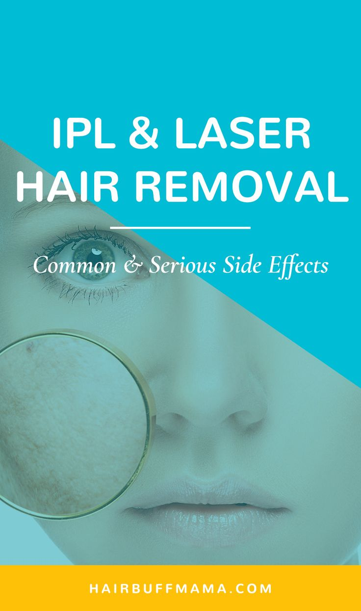 Side Effects of Home IPL and Laser Hair Removal Devices