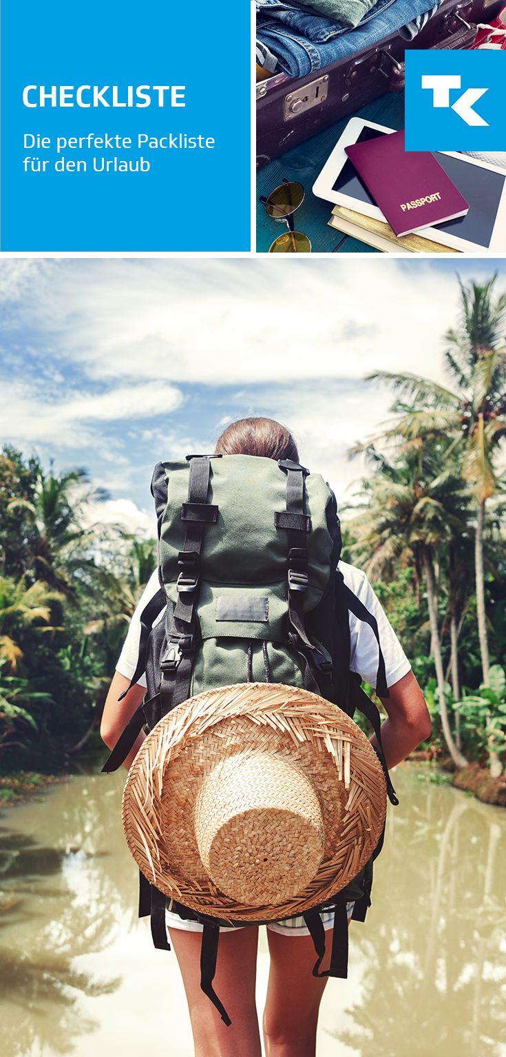 So vergesst Ihr nichts und habt den Überblick auf eurer Reise. Checkliste: Flug buchen, Hotel buchen, Reiseimpfungen erledigen, Sonne tanken. Los geht's!