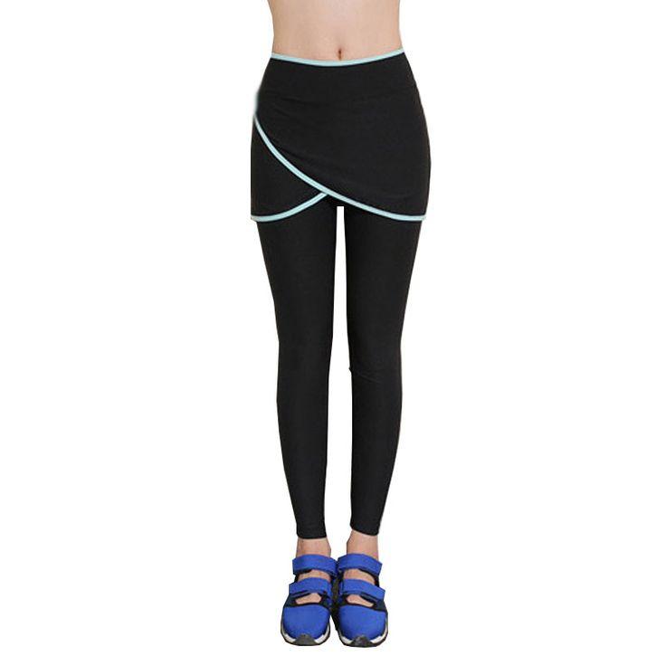 Mulheres yoga execução calças de fitness calças esportivas profissionais saia força exercício wicking collants formação estiramento magro leggings em   de   no AliExpress.com | Alibaba Group