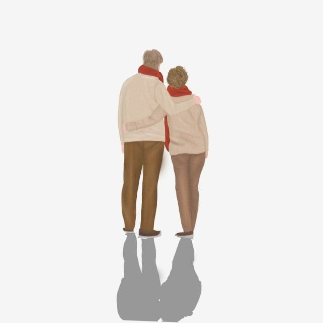 Vector Old Couple Couple Vector Embracing White Hair Png Transparent Clipart Image And Psd File For Free Download In 2021 Old Couples Couple Cartoon Couples Characters
