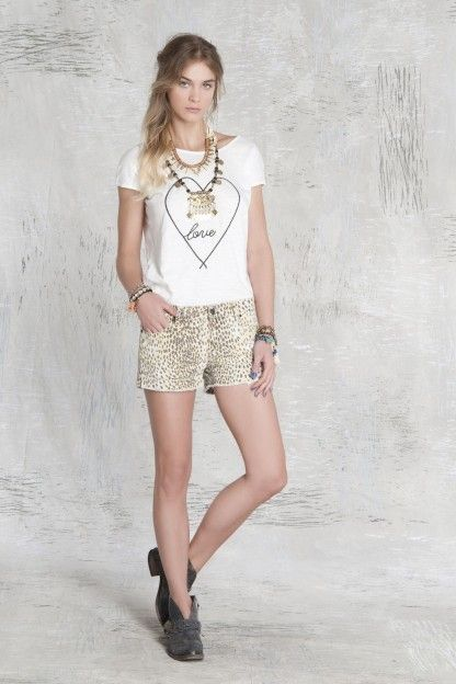 Short Cindy Leopard