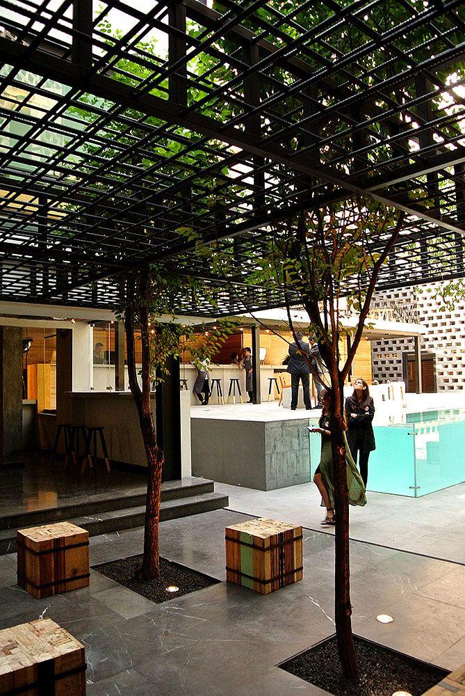 Hotel Carlota, con su concepto urbano, logra equilibrar los espacios públicos de los privados. | Galería de fotos 7 de 27 | AD MX