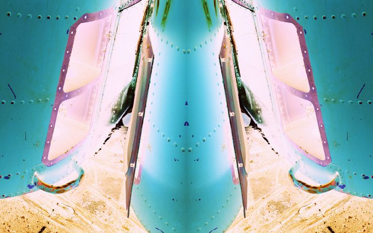 https://flic.kr/p/T61efS | double the possibilities | inverted color digital photography mirrored diptych