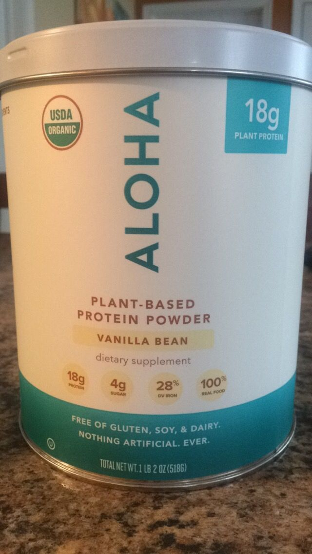 [1/2 banana, 2 scoops Aloha vanilla plant based protein powder, 1.5 T cacao powder,12-15 oz water, 1 red contain greek yogurt, kale] sub coconut/almond milk for water 3x/week and count as a yellow …