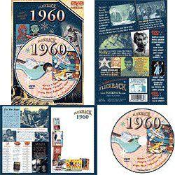 1960 DVD: Your Fabulous Year – Nostalgic 50th Wedding Anniversary or 50th Birthday Gift