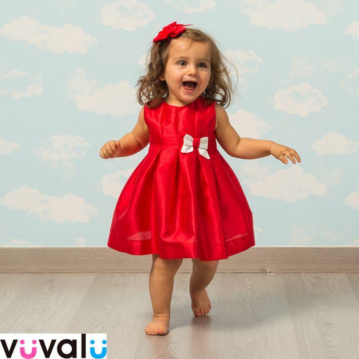 Espectacular #vestido rojo de la diseñadora Amaya