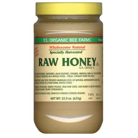 Health Honey - Raw, Unheated, Unprocessed YS Eco Bee Farms 22.0 oz. Paste - Walmart.com